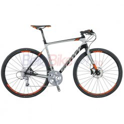 Bicicleta Scott Solace 30 FB Disc Bike (NEGRU-GRI-PORTOCALIU)