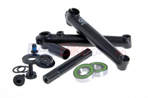 Angrenaj BMX Salt Rookie, 175mm, RSD/LSD, mid BB, 19mm (NEGRU)