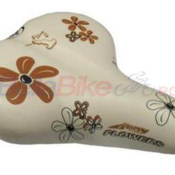 Sa de bicicleta Selle Happy Flowers (CREM)