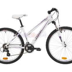 "Bicicleta dama Creon Julian Cross, 26"", alb-violet"