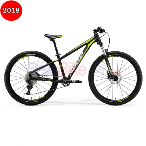 Bicicleta junior Merida Matts J.Team, 2018, negru-verde