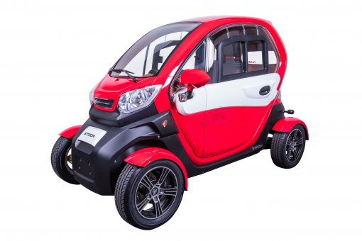 Vehicul electric urban Z-Tech ZT-96 E-Moped Car, rosu
