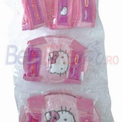 Set cotiere-genunchiere copii Hello Kitty, roz