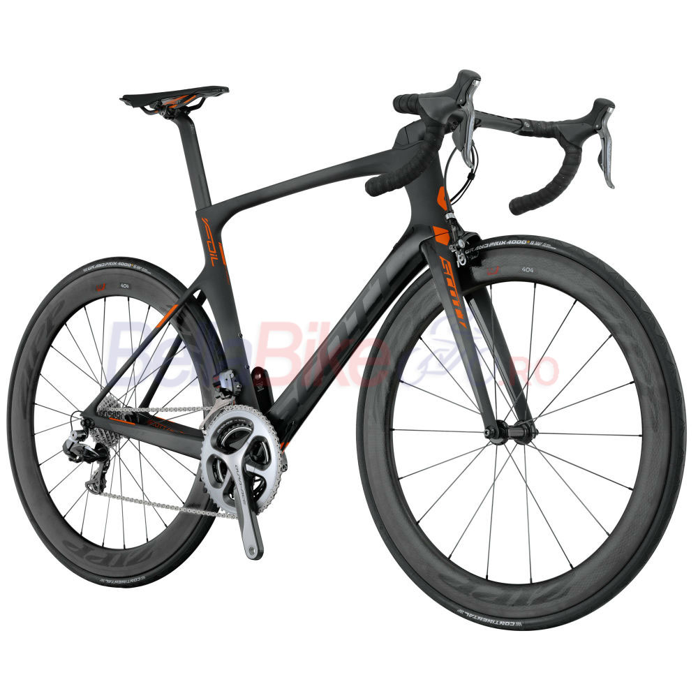Bicicleta Scott Foil Premium Bike (NEGRU-PORTOCALIU)  Galleries products Bicicleta Scott Foil Premium Bike  NEGRU PORTOCALIU  2