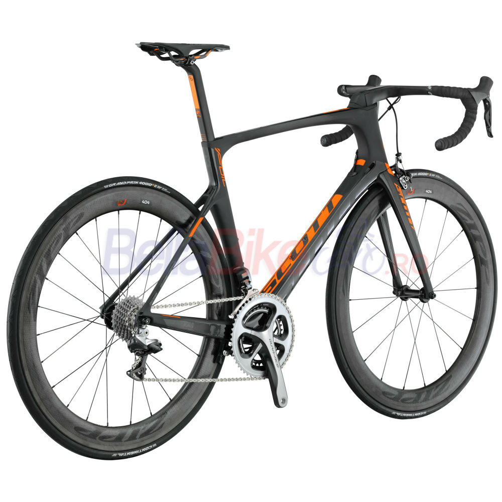 Bicicleta Scott Foil Premium Bike (NEGRU-PORTOCALIU)  Galleries products Bicicleta Scott Foil Premium Bike  NEGRU PORTOCALIU  3