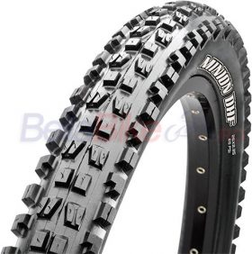 Anvelope 27.5X2.50 Maxxis Minion DHF 60TPI 2-ply wire SuperTacky Downhill (NEGRU)