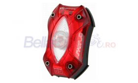 Stop Moon Shield, 1 LED, CREE (ROSU-NEGRU)