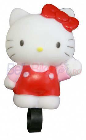 Sonerie de bicicleta in forma de figurina Hello Kitty (ALBA)