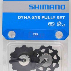 Rotite schimbator spate Shimano DYNA-SYS Pulley SET, 2 buc (NEGRU)