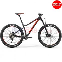 Bicicleta MTB Hardtail Merida Big Trail 800, 2017, negru-rosu