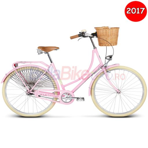 Bicicleta de dama Le Grand Virginia 4, 2017, roz