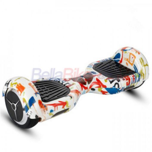 Hoverboard Smart Balance Scooter Spartan S 1/6.5, graffiti