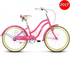 Bicicleta copii Le Grand Sanibel Jr, 2017, roz-verde