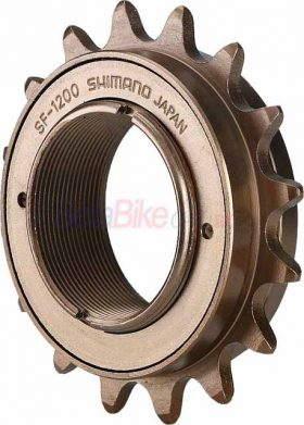 Pinion pe filet Shimano SF-1200, 20T, maro