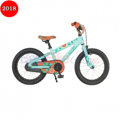 Bicicleta copii Scott Contessa JR 16, 2018, turcoaz-rosu