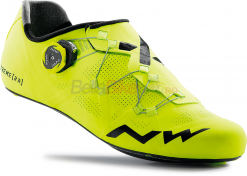 Pantofi ciclism Northwave Road Extreme RR, galben-fluo