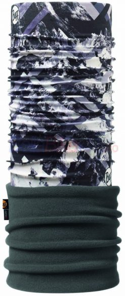 Bandana iarna Polar Adulti BUFF Mountaintop, gri