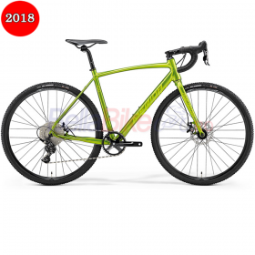 Bicicleta Merida Cyclo Cross 100, 2018, verde-galben
