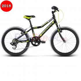 "Bicicleta Kross Hexagon Mini, 20"", 2018, negru-galben"