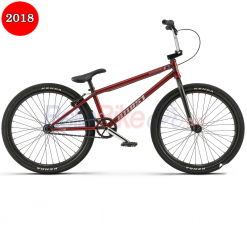 Bicicleta BMX WTP The Atlas, 22.00TT 24, 2018, rosu