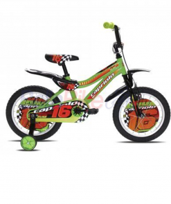 "Bicicleta copii Capriolo Kid Boy, 16"", verde"