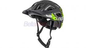 Casca O'Neal Thunderbal Attack, AM-Enduro, negru-verde