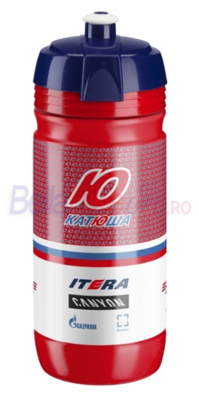 Bidon Elite Corsa Team Katusha, 550ml