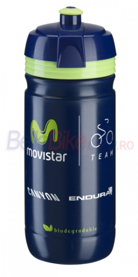 Bidon Elite Corsa Team Movistar, 550ml