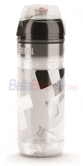 Bidon Elite Iceberg Thermal 2H, 500ml, alb