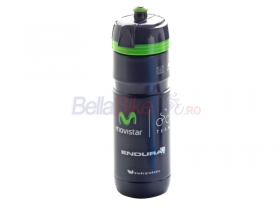 Bidon Elite Super Corsa Movistar, 750ml