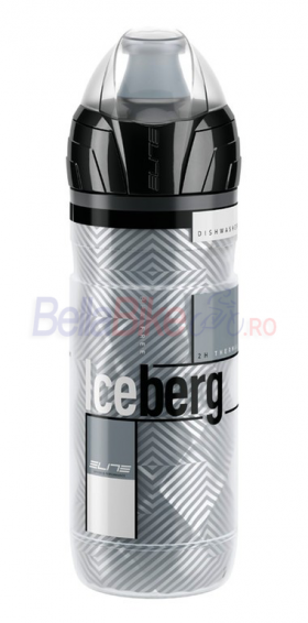 Bidonas de apa thermos Elite Iceberg, 500ml, gri