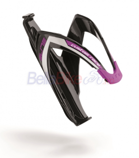 Suport de bidon Elite Custom Race, negru-violet