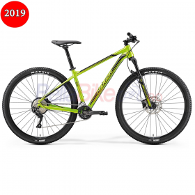 Bicicleta Merida Big.Nine 500, Silk, 2019, verde-negru
