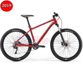 Bicicleta Merida Big.Seven 300, 2019, rosu-bordo