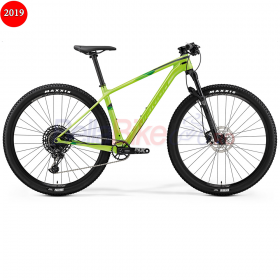 Bicicleta Merida Big.Nine 4000 Silk, 2019, verde