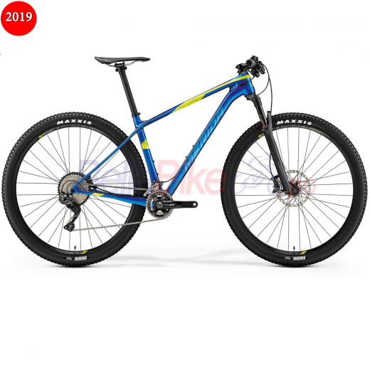 Bicicleta Merida Big.Nine XT Edition, 2019, albastru-verde