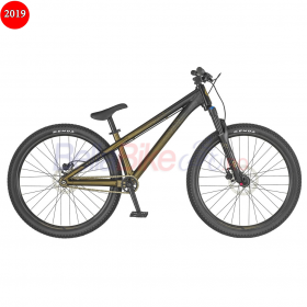 Bicicleta Scott Voltage YZ 1, 2019, negru-bronz