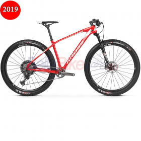 Bicicleta MTB XC KROSS Level Team Edition, 2019, rosu-alb