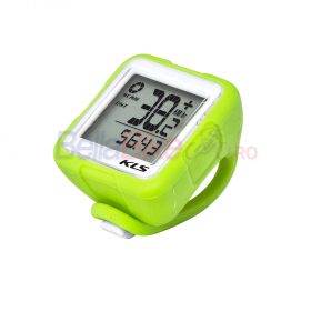 Kilometraj Kellys Reflex Wireless, 14 functii, lime
