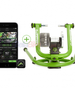 Kinetic New Rock and Roll Smart 2 Fluid Trainer, verde