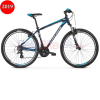 Bicicleta MTB Kross Hexagon 2.0, 2019, albastru-argintiu  Bicicleta MTB Kross Hexagon 2.0, 26″, 2019, gri-argintiu-rosu products Bicicleta MTB Kross Hexagon 2
