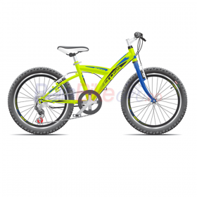 "Bicicleta copii Cross ROCKY 24"", verde"