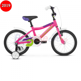 Bicicleta copii Kross Mini 4.0, 2019, roz-verde